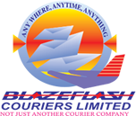 The Blazeflash Courier Company in India