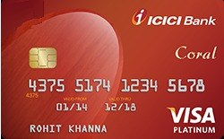Credit card from ICICI Bank