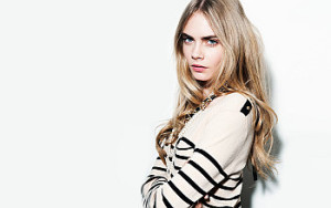 British model Cara Delevingne contact details