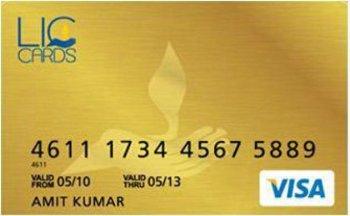 Lic credit card