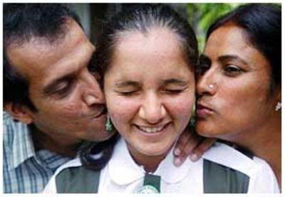 Sania Mirza childhood