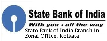 State Bank of India Branch in Zonal Office, Kolkata