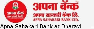 Apna Sahakari Bank Limited Branch in Dharavi