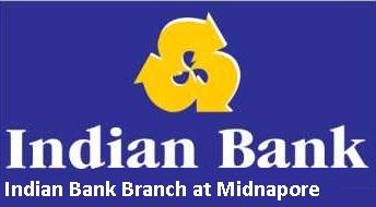 Indian Bank Branch at Midnapore