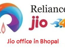 Jio office in Bhopal