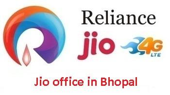 Jio office in Bhopal