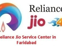 Reliance Jio Service Center in Faridabad