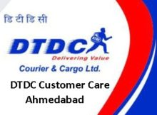 DTDC Customer Care Ahmedabad